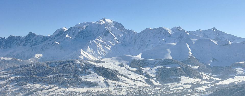 Chalet avec vue Mont-Blanc