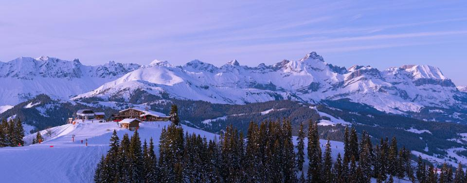 Chalet à Megève, des vacances au ski inoubliables